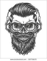 """Résultat de recherche d'images pour """"skull moustache"""""""