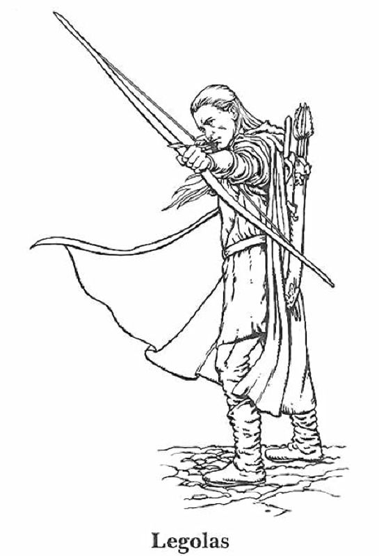 Lord of the Rings Coloring Pages | The Hobbit | Pinterest | Páginas ...
