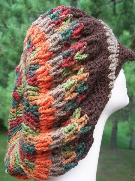 Crochet and Knit Tam Rasta Pattern Booklet by NorthwoodExposure ...