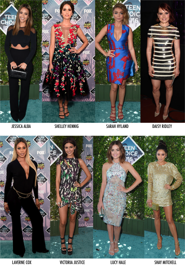 Os Looks do Teen Choice Awards 2016 - Fashionismo