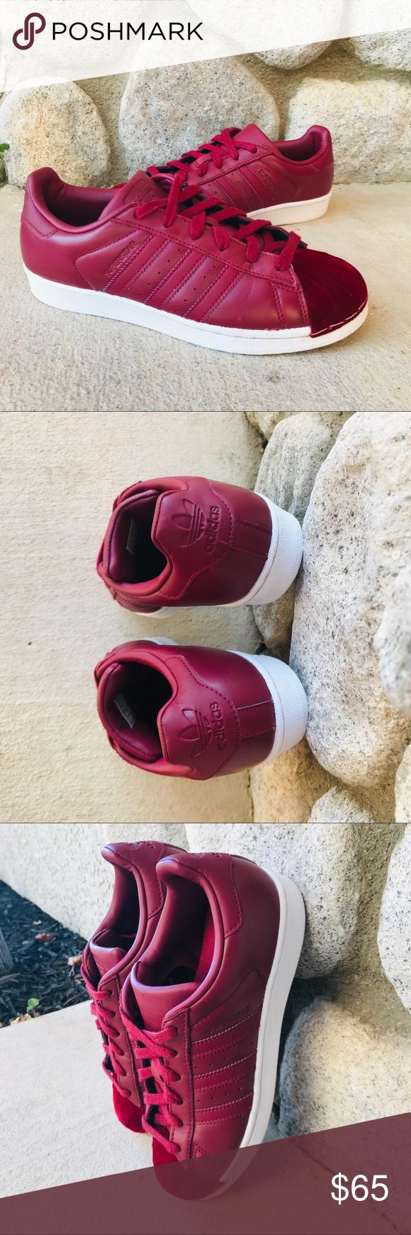 adidas superstar red velvet