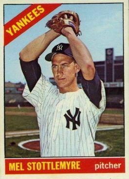 Player Profile Mel Stottlemyre New York Yankees Baseball Baseball Cards Yankees Baseball
