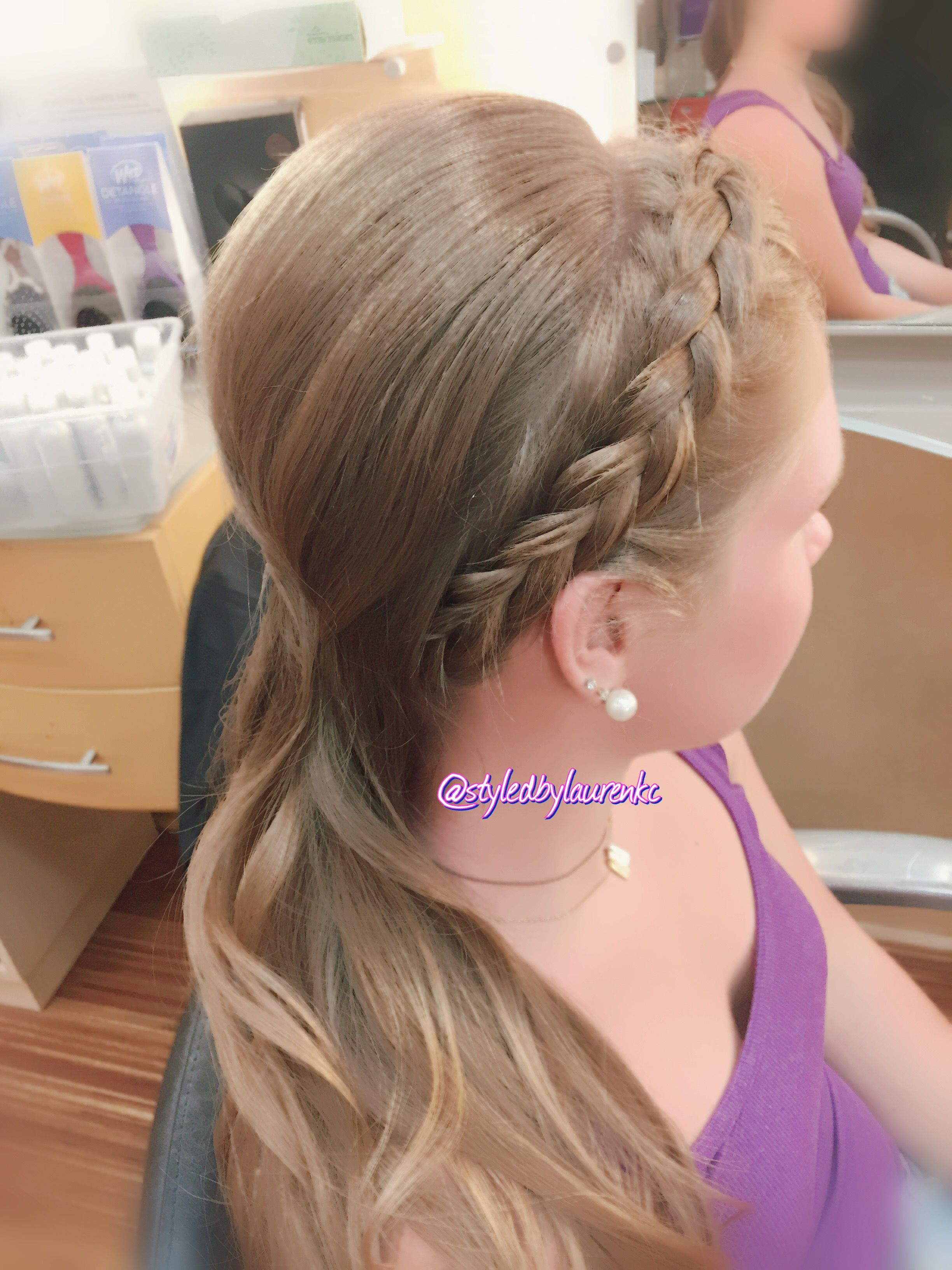 Updo with braid hair by me pinterest updo hair make up and