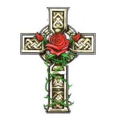 cruz con rosas buscar con google tattoo pinterest rose tattoos tattoo and tattoo celtic. Black Bedroom Furniture Sets. Home Design Ideas