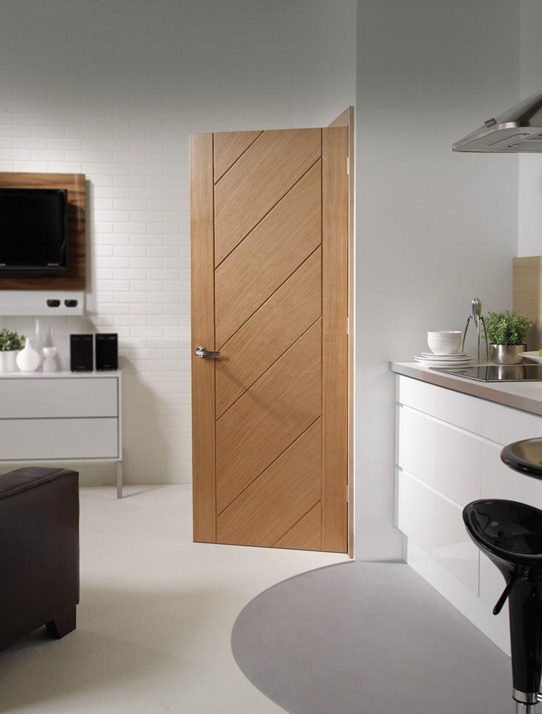 Monza Oak Internal Door