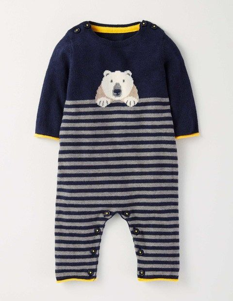 f12dcdf1f Shopping: Polar Bear Panache | Best In Baby Gear | Knitted romper ...