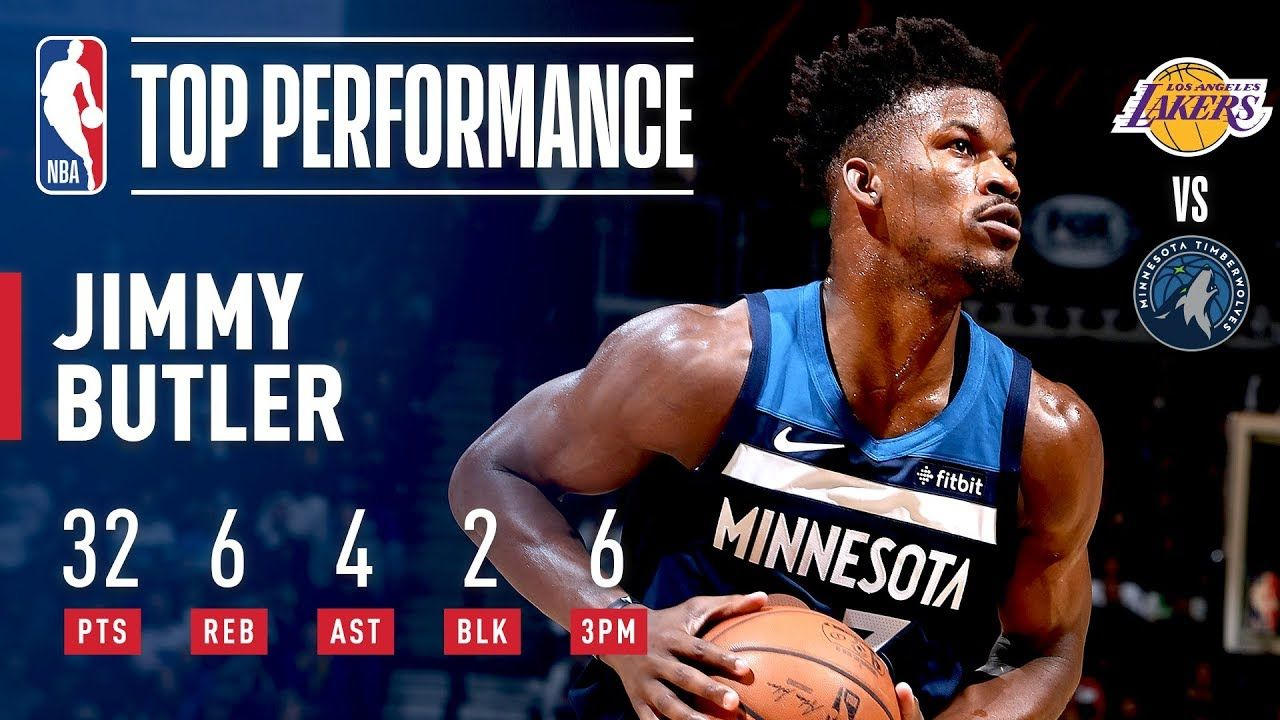 Jimmy Butler Pours In 32 Points In A Clutch Performance