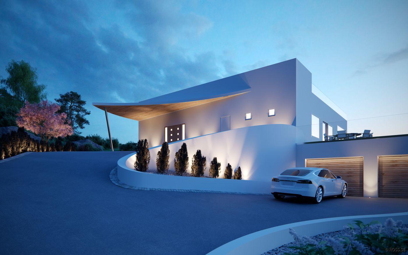 Design arkitekt p l ross villa kuben dream home for Arkitekt design home