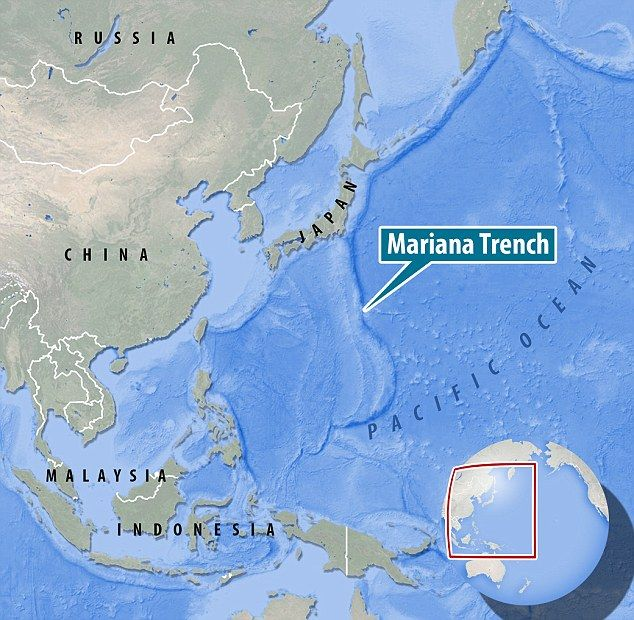 Deepest ocean teems with microbes  Mariana trench