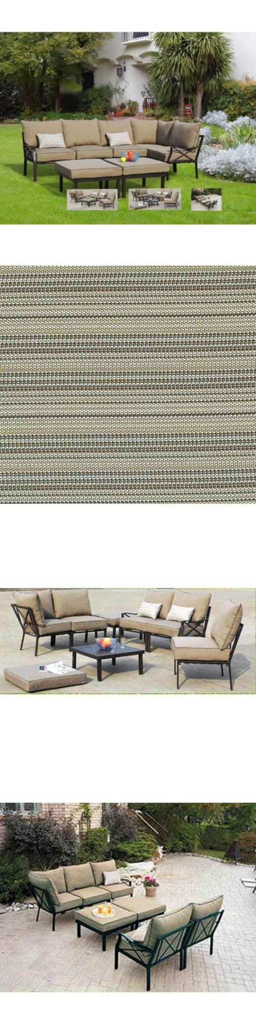 Patio And Garden Furniture Sets 139849 Mainstays Sandhill 7 Piece