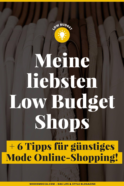 sale retailer 9f012 50ebb 6 Tipps für günstiges Mode Online-Shopping + meine liebsten ...
