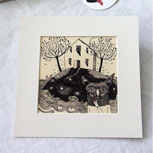 PetraHilbert / Ilustrácia - Print č.1
