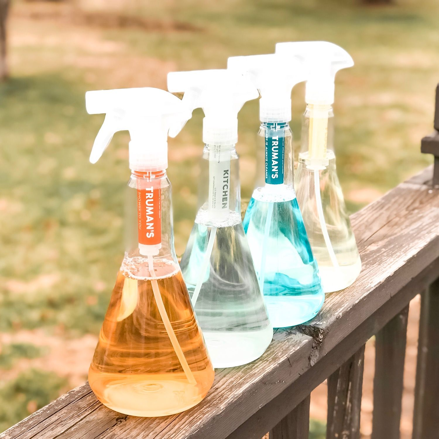 Starter Kit Eco Friendly Cleaning Products Starter Kit Tinted
