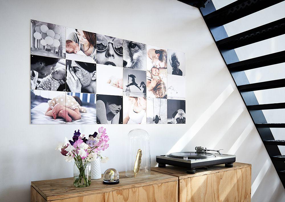 ixxi collage diy pinterest fotowand fotoleinwand und ideen. Black Bedroom Furniture Sets. Home Design Ideas