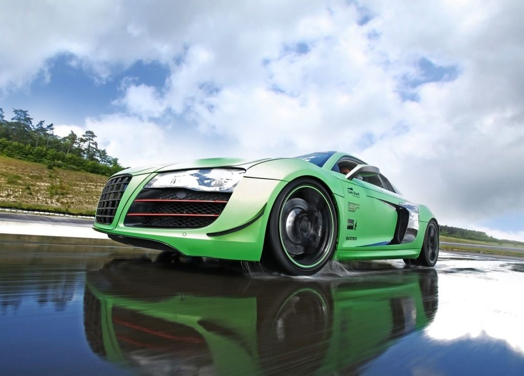 Audi R8 V10 with 610HP