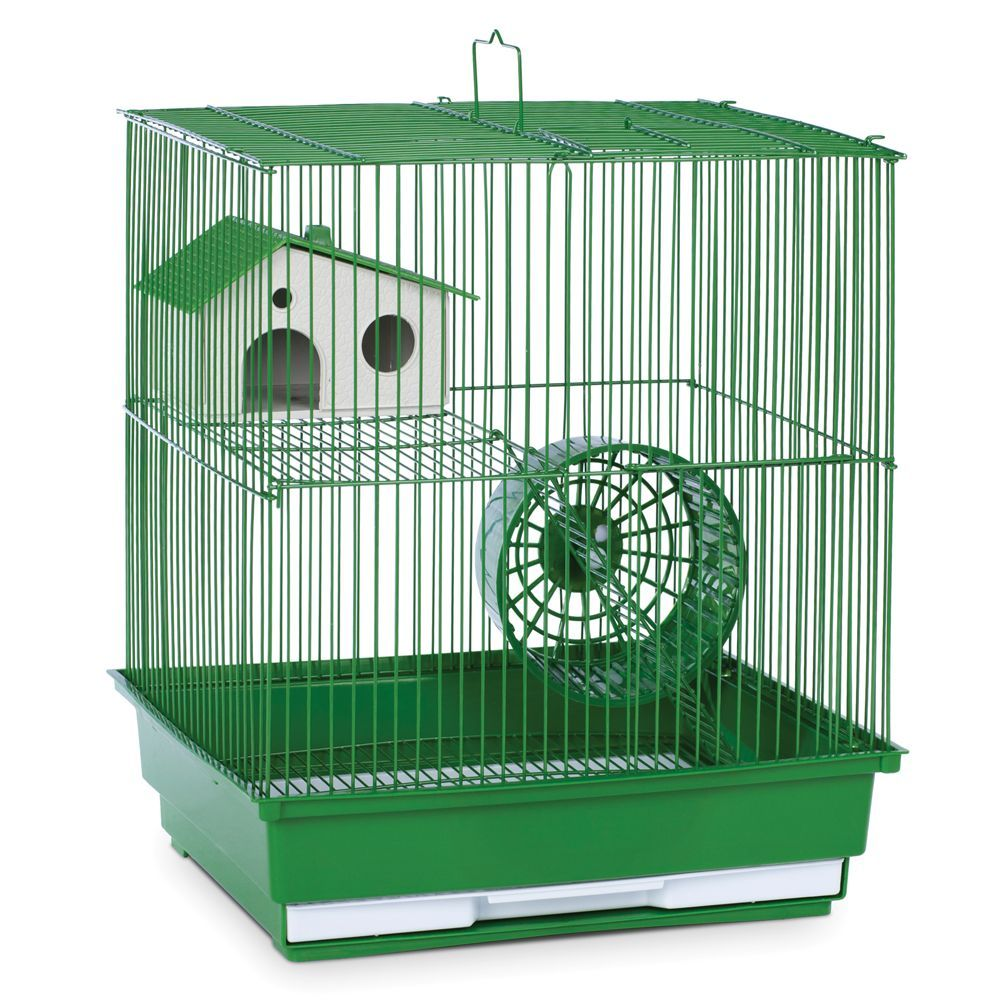 Prevue Pet Products Two Story Hamster Habitat Green Small