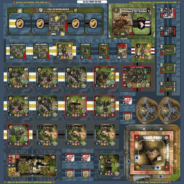 Devil Pig Scenario Pack Carentan Scenarios, Adventure