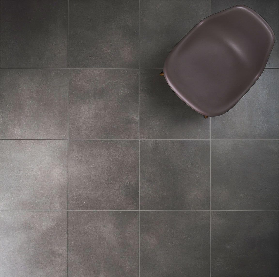 Tones porcelain floor tile 45 x 45cm anthracite matt pack of 6 find tones anthracite porcelain floor tile 6 pack at homebase visit your local store for the widest range of paint decorating products dailygadgetfo Images