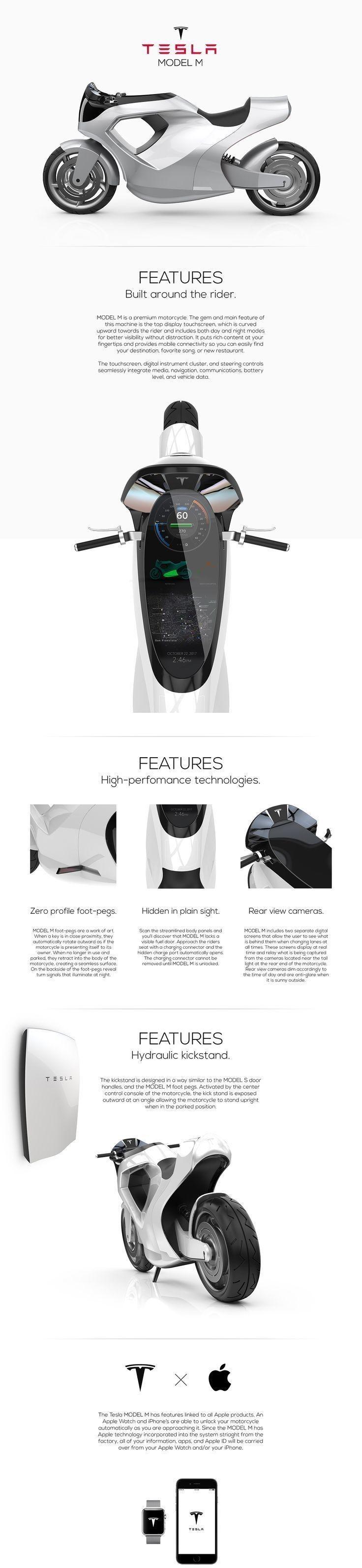 Tesla Emotors Tesla car, Electric motorcycle