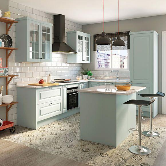 Resultado de imagen de cocina leroy merlin azur casa - Cenefas cocina leroy merlin ...