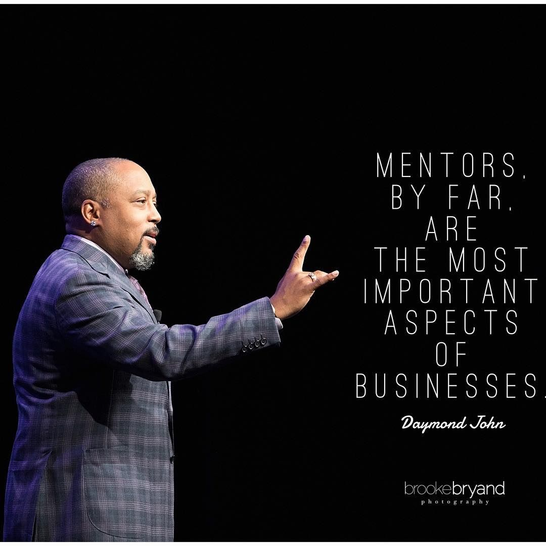 mentors by far are the most important aspects of businesses