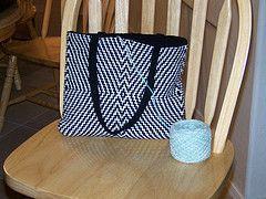 Ravelry: The Bag pattern by Wendy Wonnacott