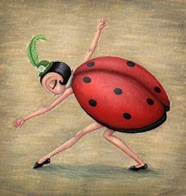 Grácil bailarina...