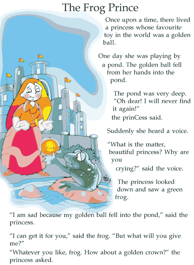 grade 2 reading lesson 12 fairy tales frog prince classroom ideas english story english. Black Bedroom Furniture Sets. Home Design Ideas