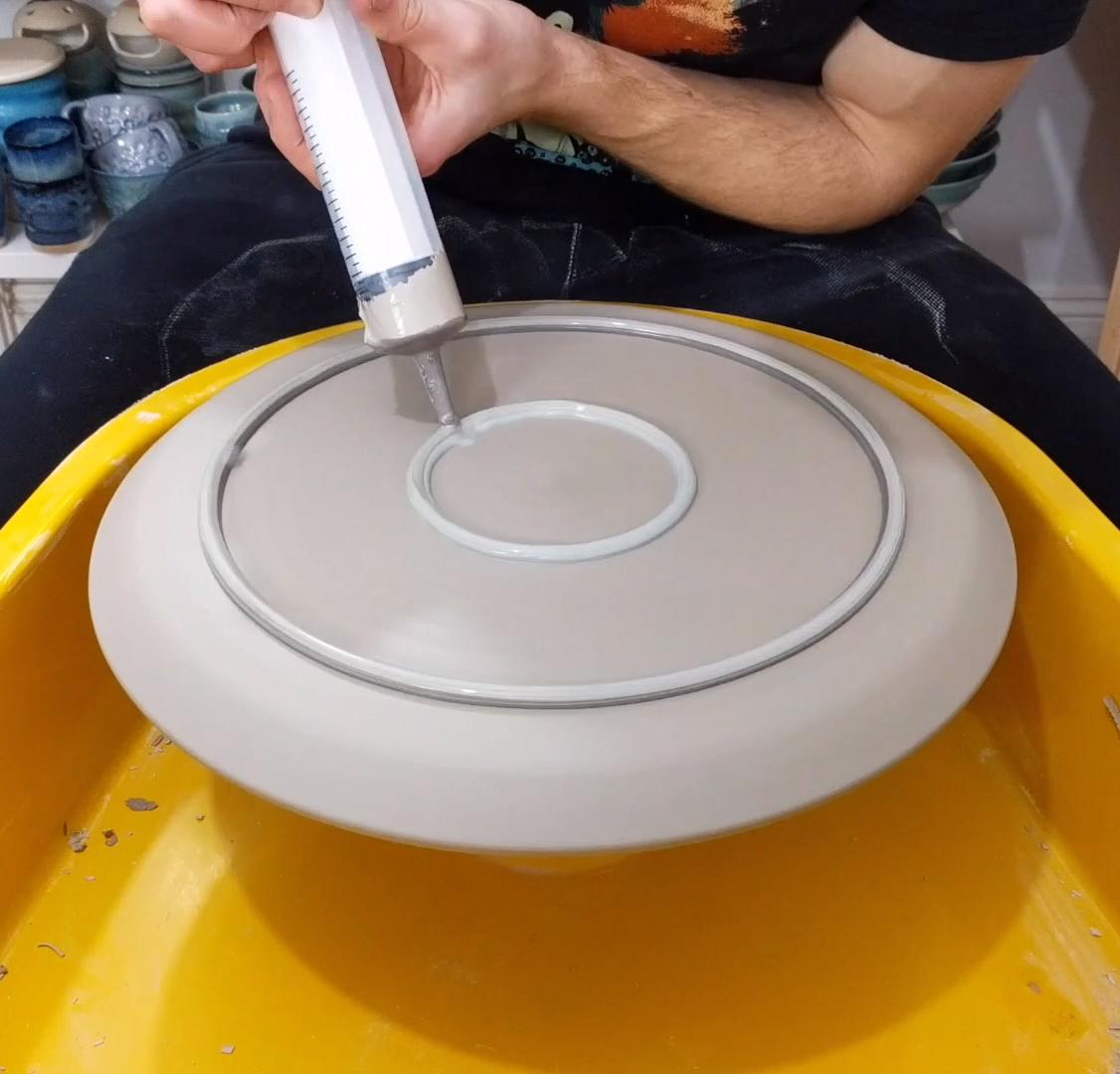 Making a Large Nautilus Platter