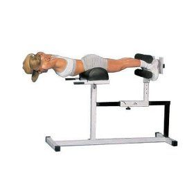 fitness plus hyperextension bench for back glute ham