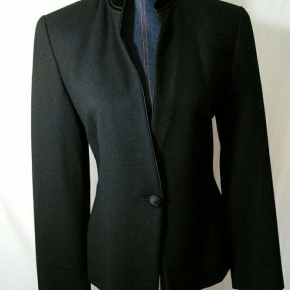 Ellen Tracy black jacket Black single button jacket Ellen Tracy Jackets & Coats