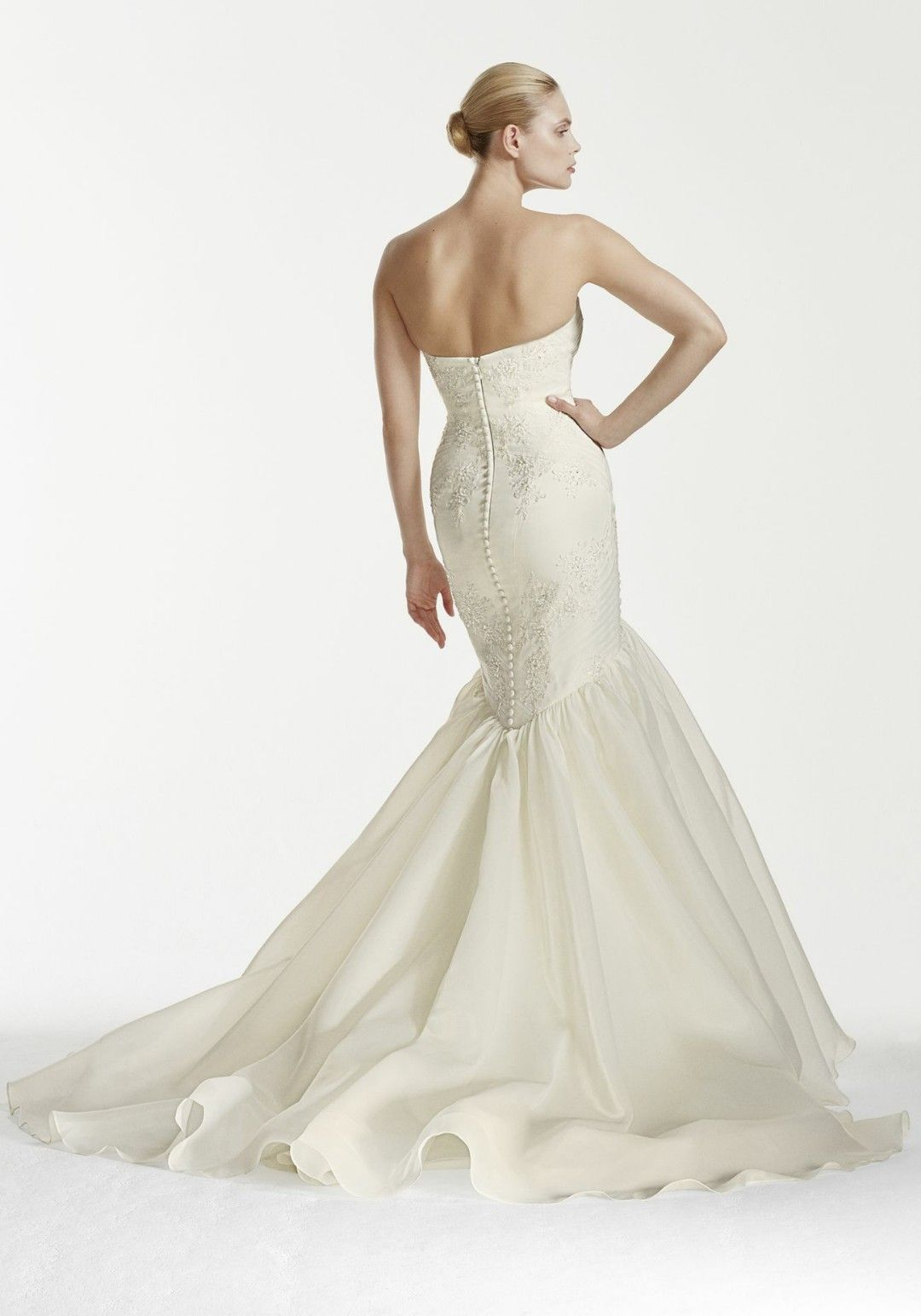 Zac posen wedding dress  Truly Zac Posen Collection for Davidus Bridal  Bridal GownMermaid