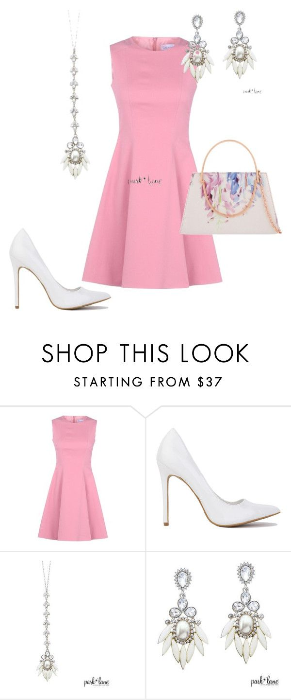 """""""Park Lane Jewelry - Spark"""" by dlpearce on Polyvore featuring RED Valentino and Ted Baker"""