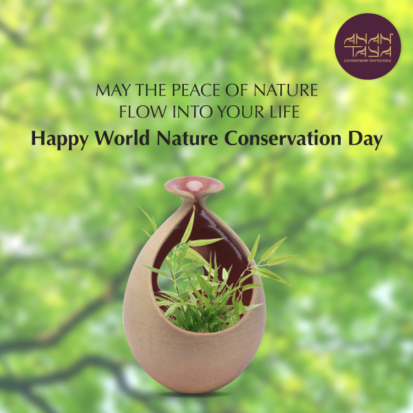 On The World Nature Conservation Day Let Us Make A Conscious Effort To Contribute To The Local National And Global Eff Nature Conservation Save Earth Nature