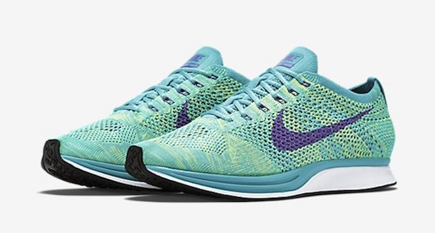 """ca5fe62a3a7c Nike Flyknit Racer """"Sport Turquoise"""""""