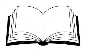 resultado de imagen de libro abierto para colorear