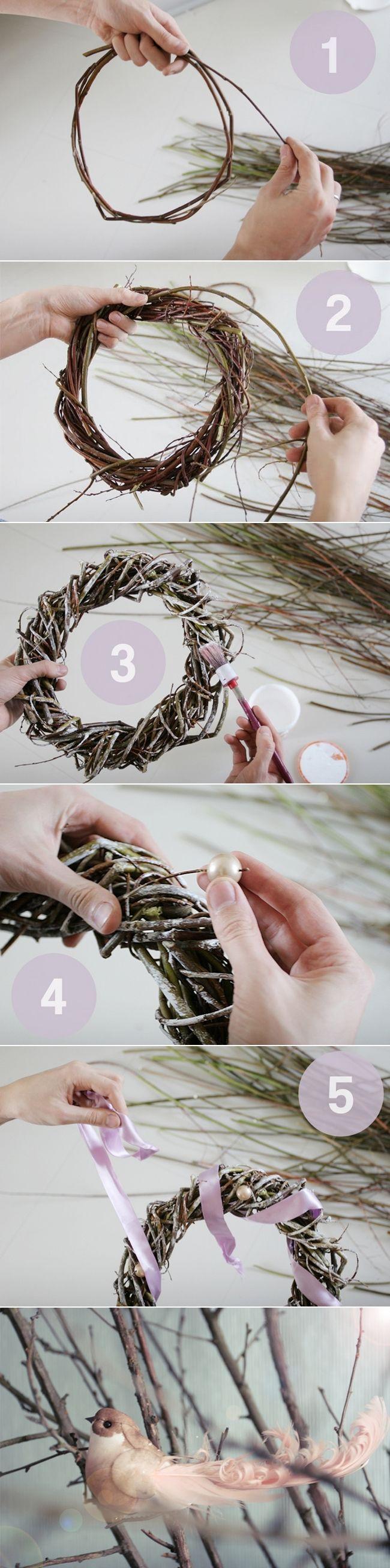 17 DIY-Weihnachten Kränze – Einfache und kreative Dekorationen und Kunsthandwerk #ribbonart