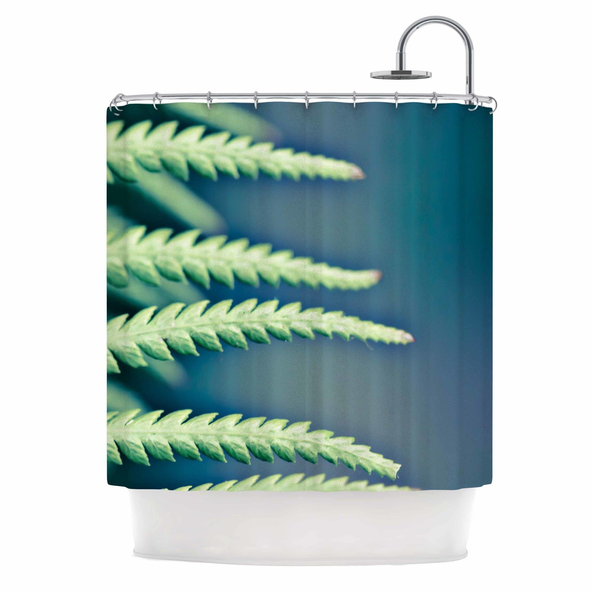 Into the Forest by Ann Barnes Shower Curtain
