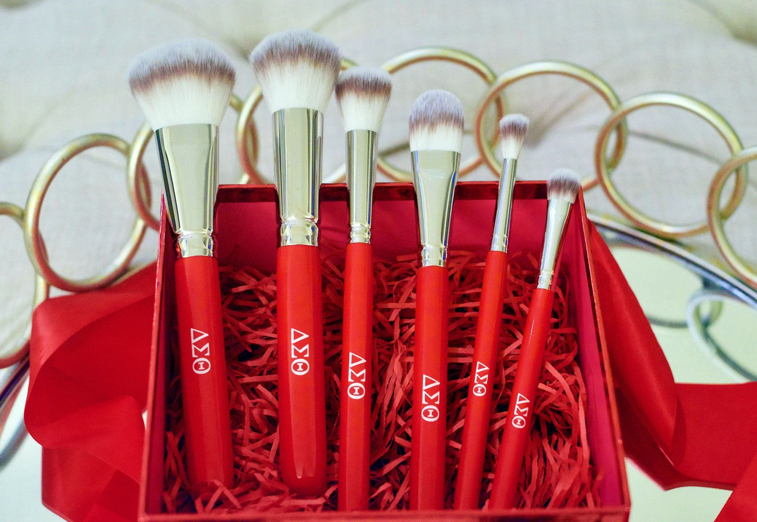 Delta sigma theta makeup brush set in 2020 Makeup brush