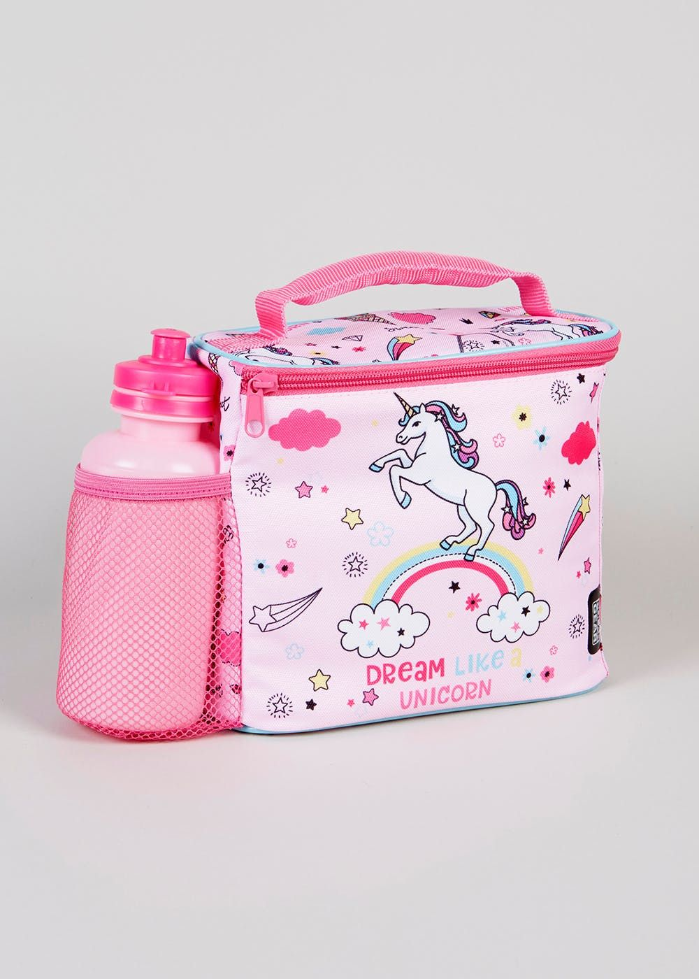 011371212f She ll love trotting around at lunchtime with this magical lunch bag and  water bottle
