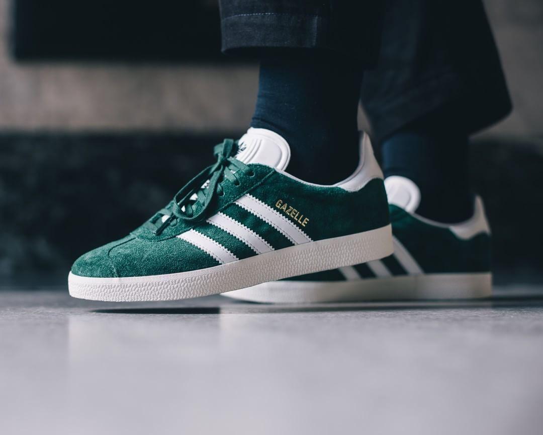 adidas gazelle green