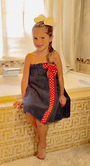bb630b408c Cuteness cant even begin to describe how your little girl will look in one  of one of these childs towel wrap or toddler spa wrap! Every little girl