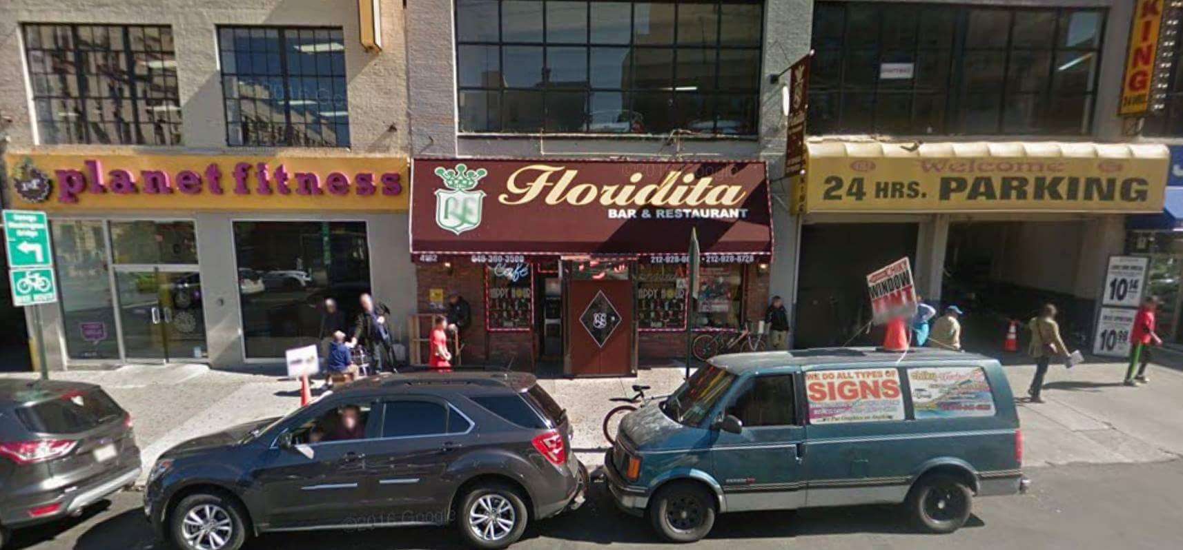 Floridita restaurant uptown fitness workout