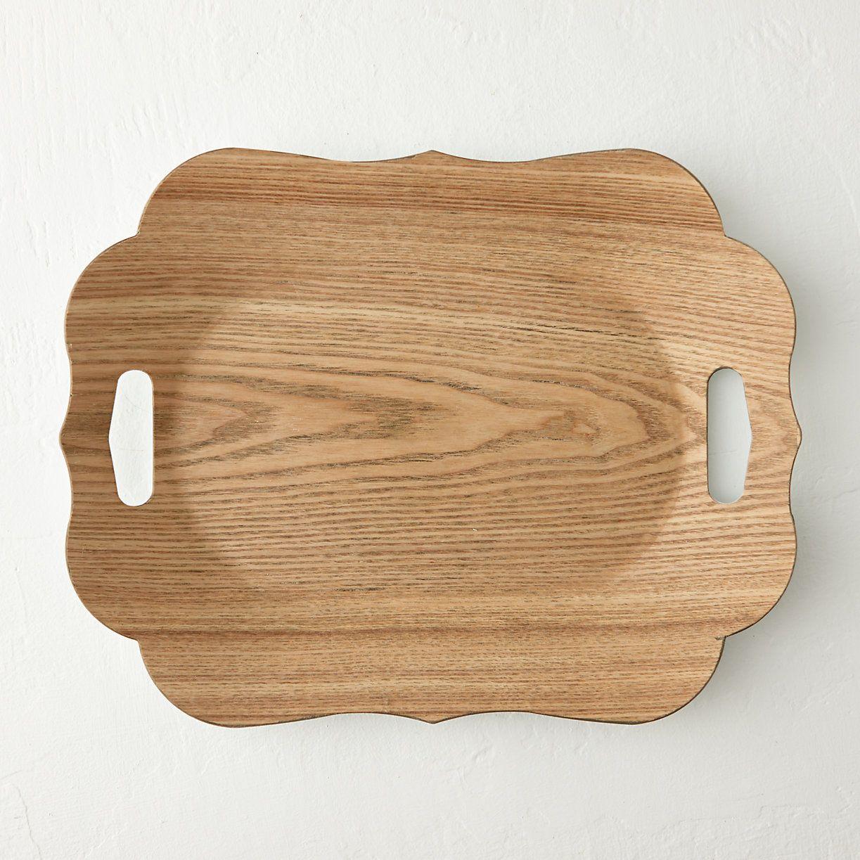 Vividly printed wood veneer adds natural appeal to this