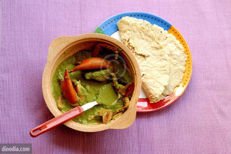 chimbori kalvan and bhakri yummm