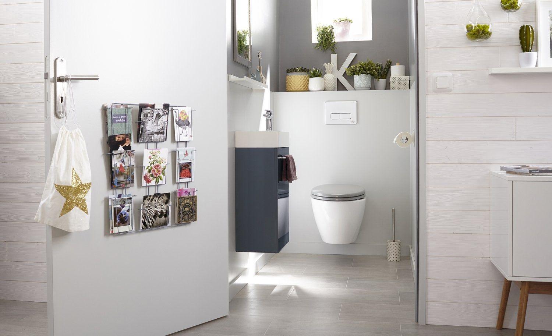 Meubles Pour Petit Wc Idee Deco Toilettes Amenagement Toilettes Meuble Toilette
