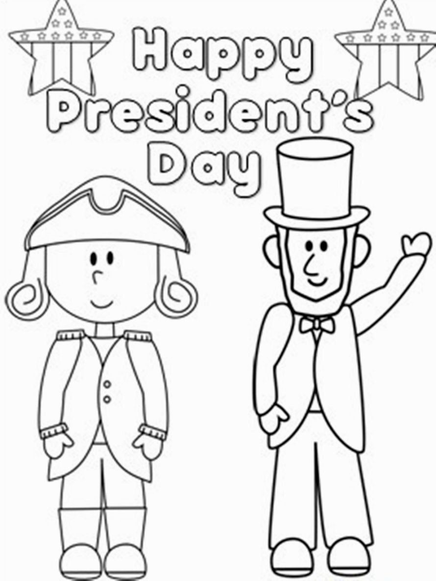 Presidents Day Coloring Pages Coloring Pages Pinterest