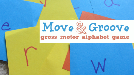gross motor alphabet game for kids