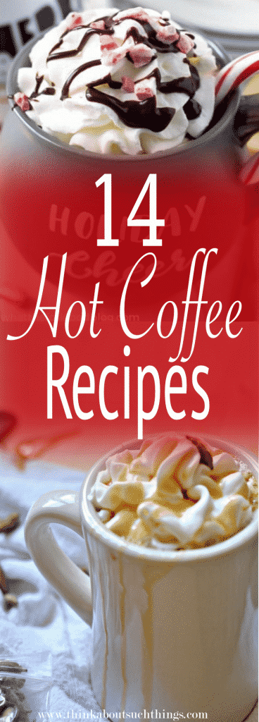 14 Easy Hot Coffee Recipes To Warm Your Soul #espressoathome