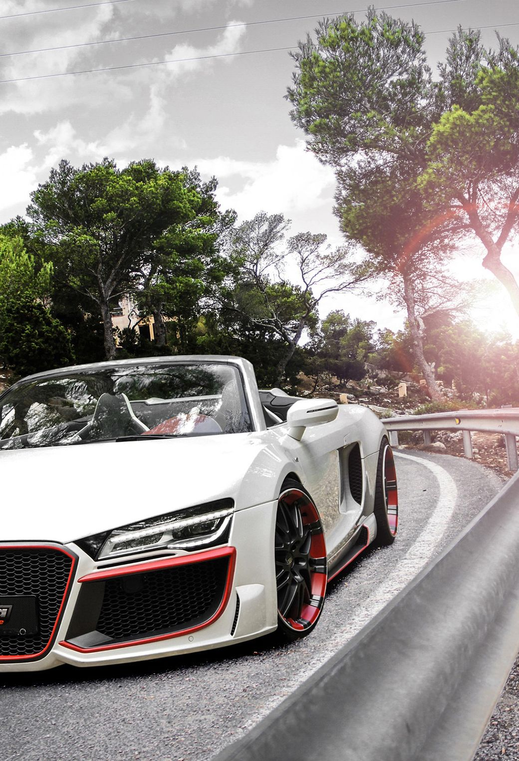 Audi R8 V10 Spyder #audir8